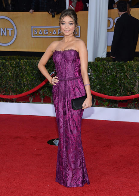 Sarah Hyland at the 19th Annual Screen Actors Guild Awards.