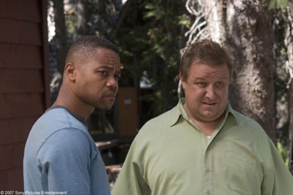 Cuba Gooding, Jr. and Paul Rae in
