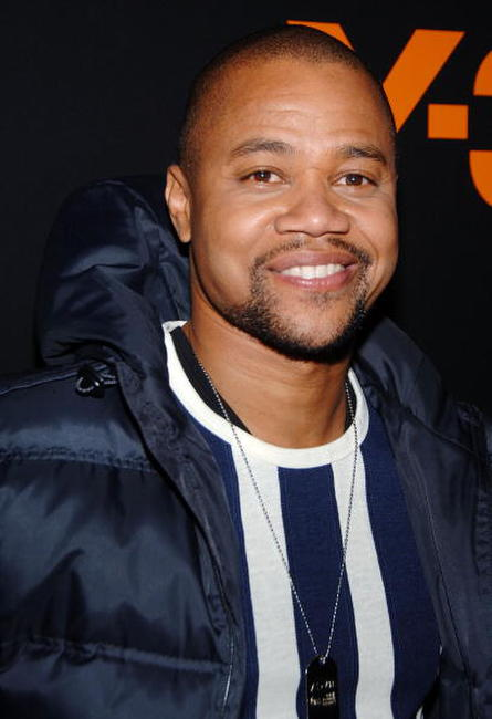 Cuba Gooding, Jr. at the adidas Y-3 Autumn/Winter 2007 show in N.Y.