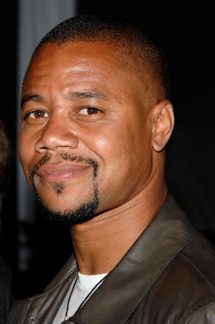 Cuba Gooding, Jr. at the Stanley Cup VIP reception after Game One of the 2007 NHL Stanley Cup Finals in Anaheim.