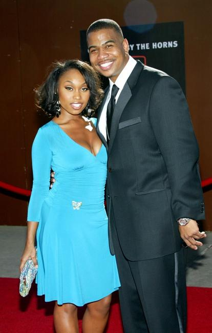 Angell Conwell and Omar Gooding at the 10th Annual Soul Train Lady of Soul Awards.