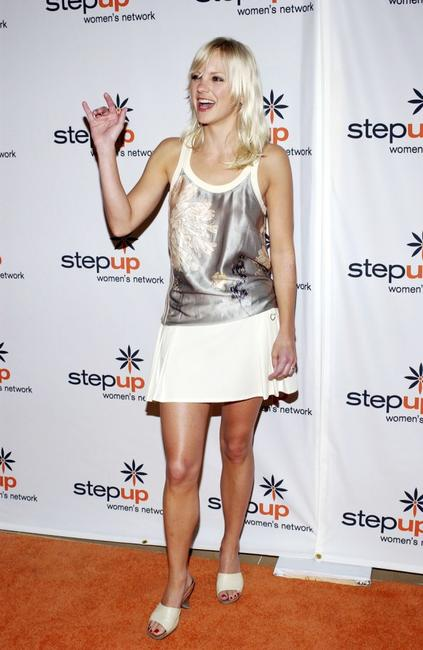Anna Faris at the 2005 Step Up Women's Network Inspiration Awards Luncheon.