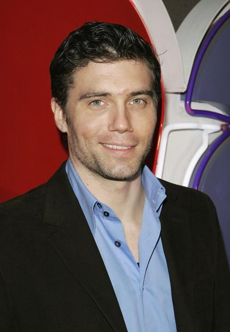 Anson Mount at the NBC TCA Party.