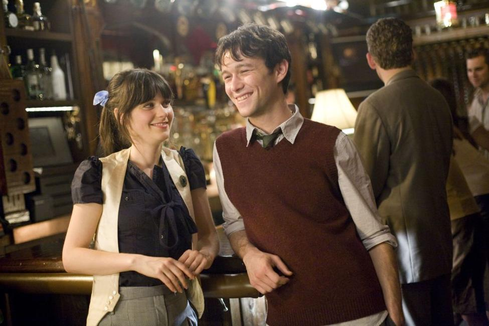 Zooey Deschanel and Joseph Gordon-Levitt in