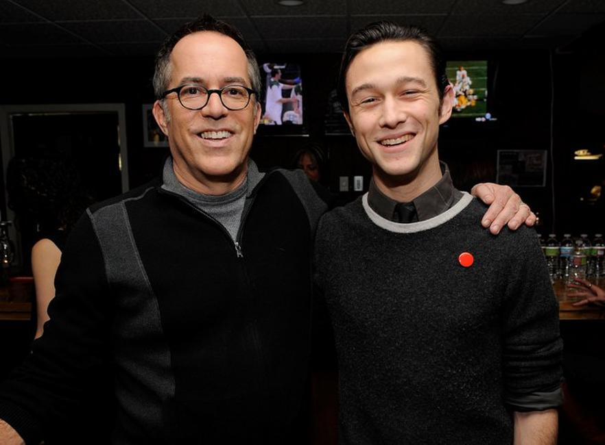 John Cooper and Joseph Gordon-Levitt at the 2010 Sundance Film Festival.
