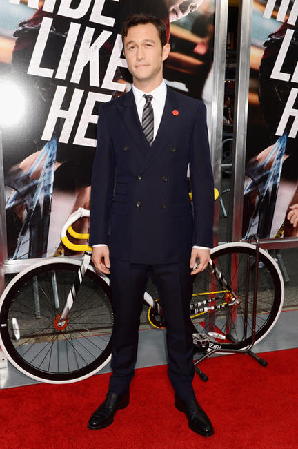 Joseph Gordon-Levitt at the New York premiere of