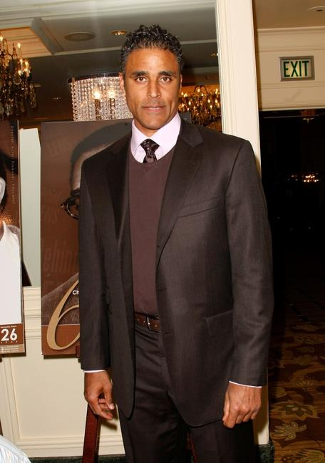 Rick Fox at the Chrysler LLC Sixth Annual Behind the Lens Award.