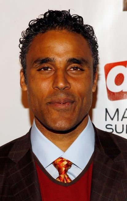 Rick Fox at the premiere of