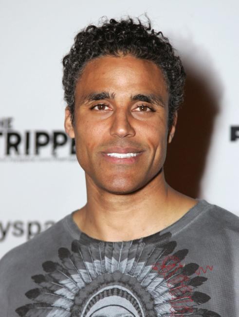 Rick Fox at the L.A. premiere of