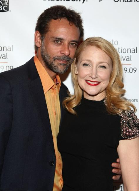 Alexander Siddig and Patricia Clarkson at the screening of