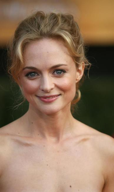 Heather Graham at the 13th Annual Screen Actors Guild Awards, in Los Angeles.
