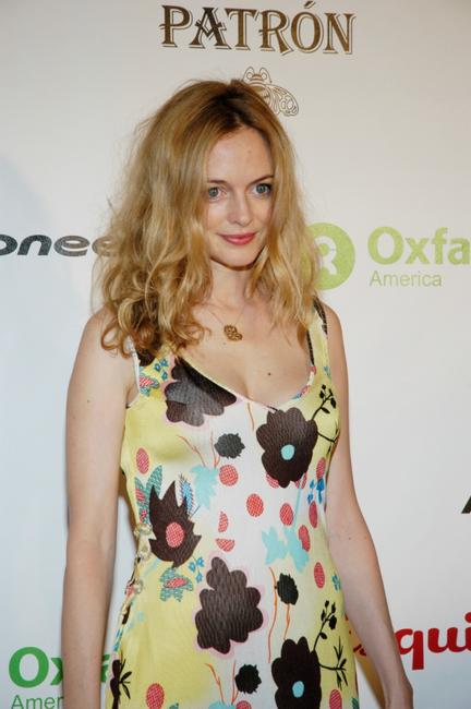 Heather Graham at the Oxfam Event Honoring Emile Hirsch at Esquire North.