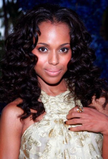 Kerry Washington at the YSL pool party.