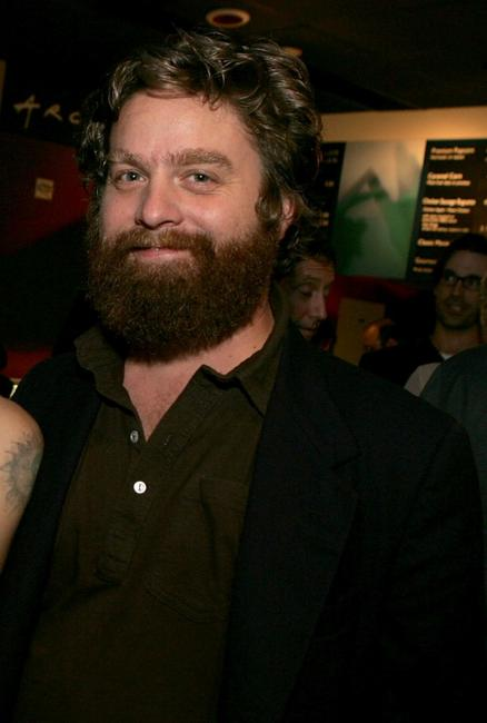 Zach Galifianakis at the special screening of
