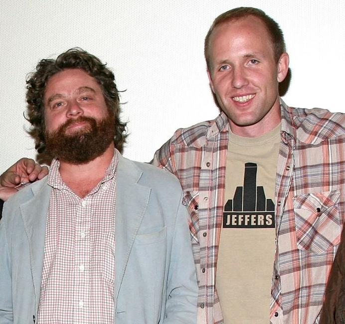Zach Galifianakis and Jared Drake at the 2008 AFI Fest special screening of
