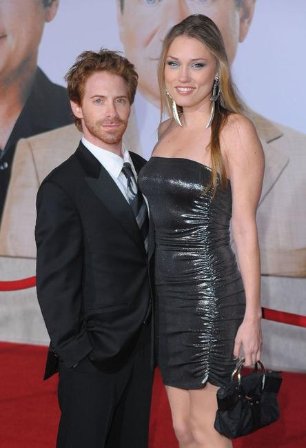 Seth Green and Clare Grant at the California premiere of