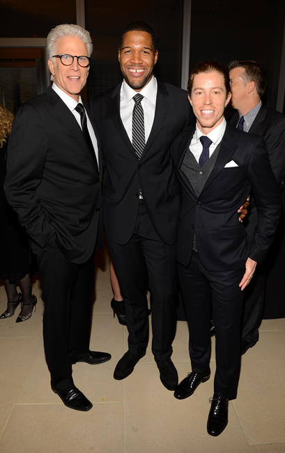 Ted Danson, Michael Strahan and Shaun White at the 2012 GQ Gentlemen's Ball in New York.