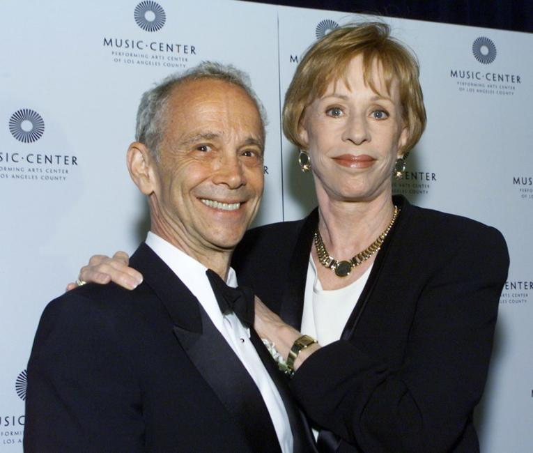 Joel Grey and Carol Burnettat the Music Center's 18th Annual Distinguished Artist Award Gala.