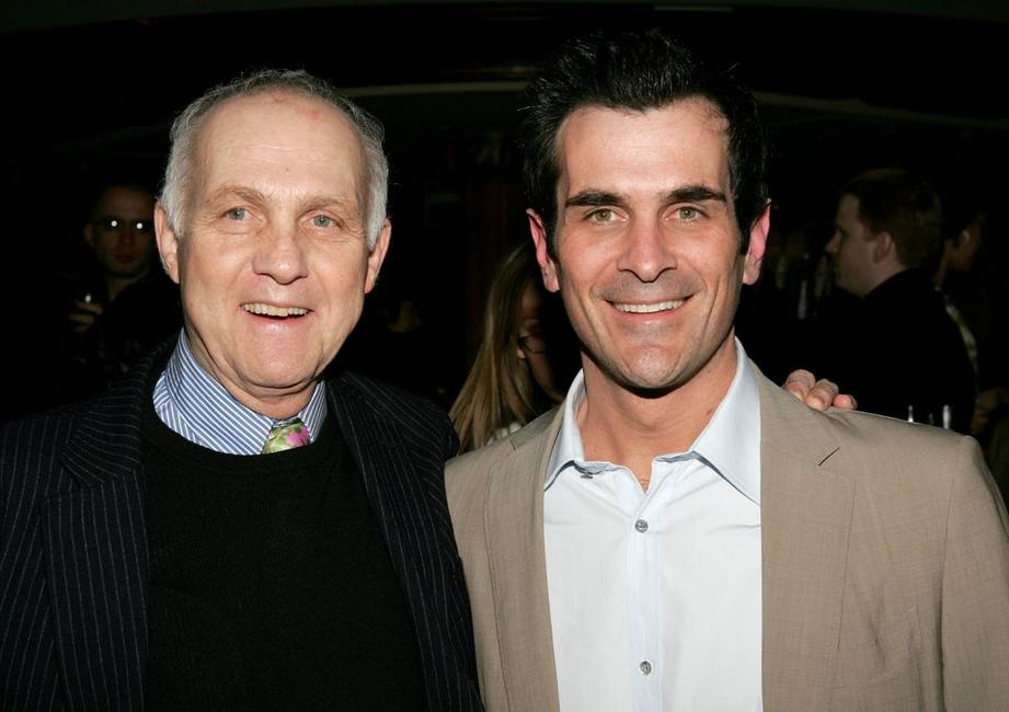 Lawrence Pressman and Ty Burrell at the opening night after party of