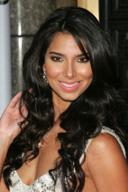 Roselyn Sanchez at Conde Nast Media Group's Third Annual Fashion Rocks concert.