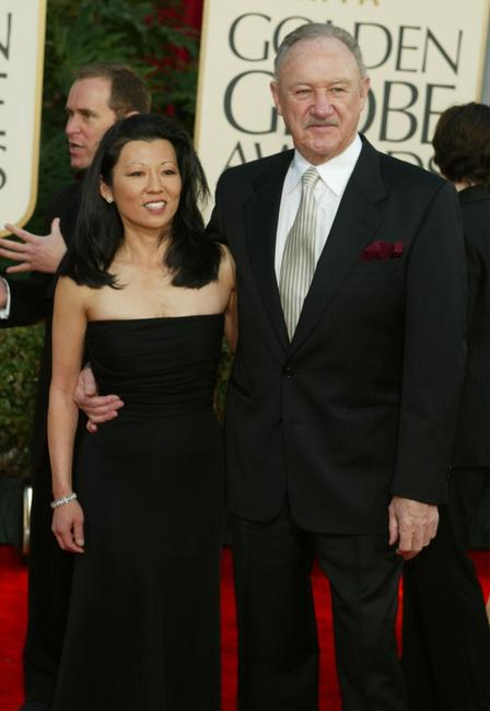 Gene Hackman at the 60th Annual Golden Globe Awards.