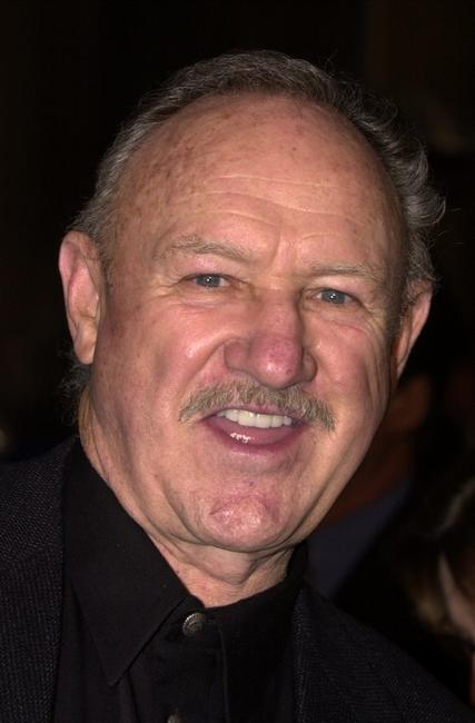 Gene Hackman at the premiere of the film