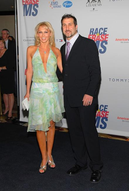 Kym Johnson and Joey Fatone at the 14th Annual Race To Erase MS