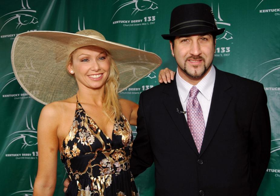 Kym Johnson and Joey Fatone at the 133rd running of Kentucky Derby.