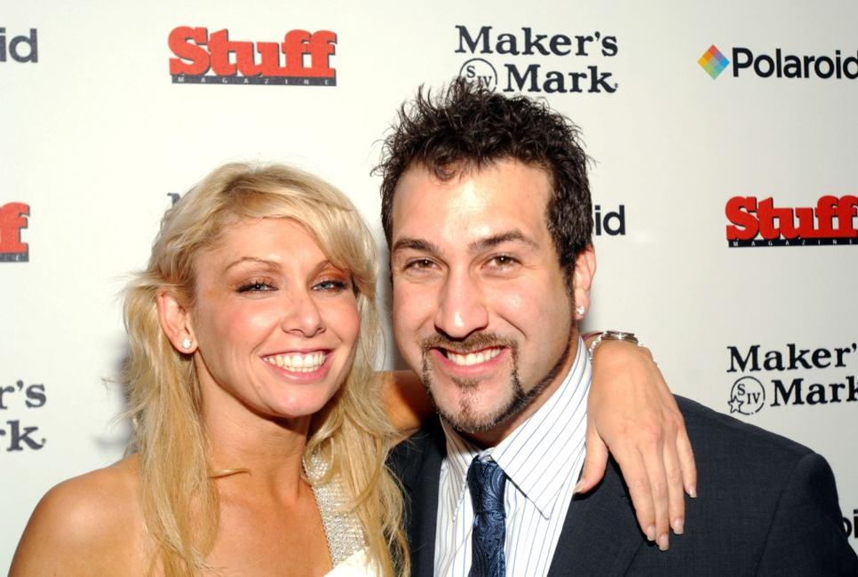 Kym Johnson and Joey Fatone at the Stuff Magazine for the 133rd Kentucky Derby.