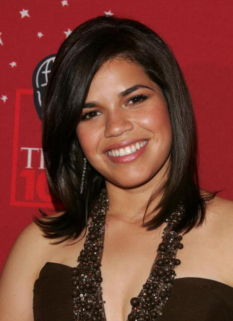 America Ferrera at Time Magazine's celebration of the '100 Most Influential' in New York City.
