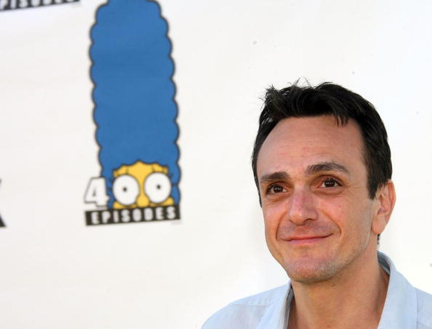 Hank Azaria at The Simpsons 400th Episode Block Party in L.A.