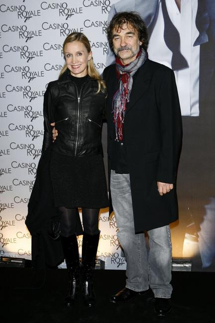 Catherine Marchal and Olivier Marchal at the French premiere of
