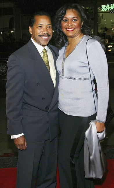 Obba Babatunde and his wife at the premiere of