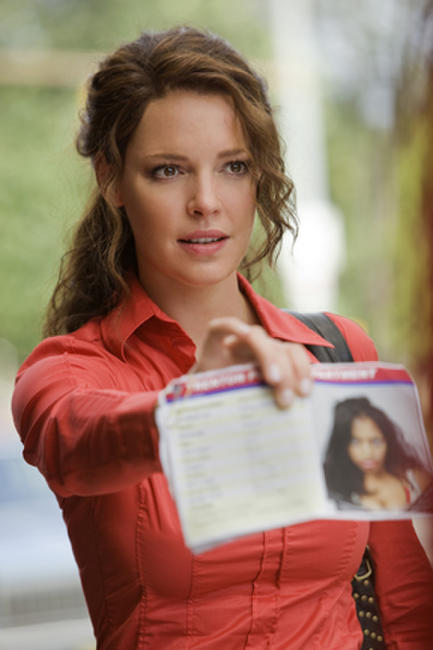 Katherine Heigl as Stephanie Plum in ``One for the Money.''