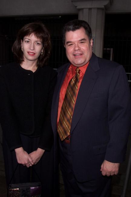 Michael Badalucco and his wife at the 2001 TV Guide Awards.