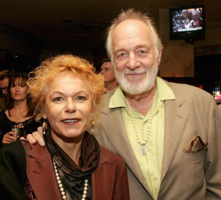 Caroline Ducrocq and Howard Hesseman at the after party of