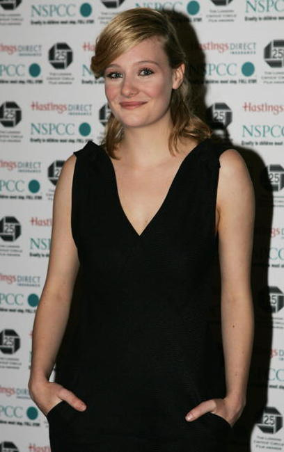 Romola Garai at the Awards of the London Film Critics Circle in London.