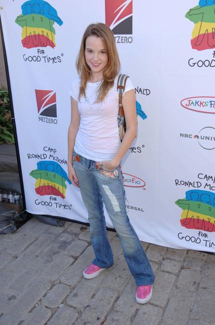 Kay Panabaker at the Camp Ronald McDonald for kids 14th Annual Family Halloween Carnival.