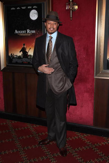 Actor Terrence Howard at the N.Y. premiere of