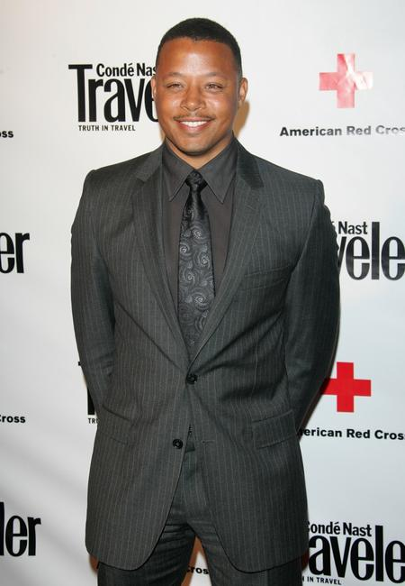 Terrence Howard at the Conde Nast Travelers Annual Hot List Issue Party.