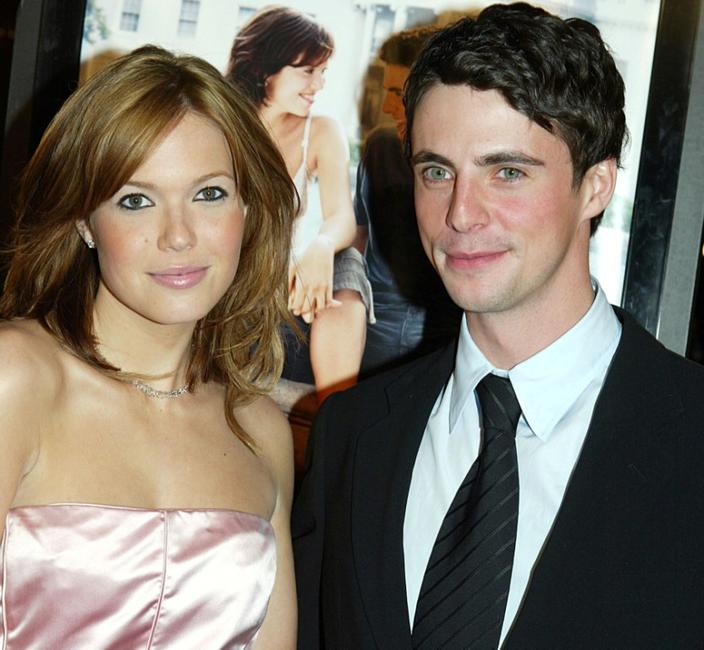 Mandy Moore and Matthew Goode at the premiere of