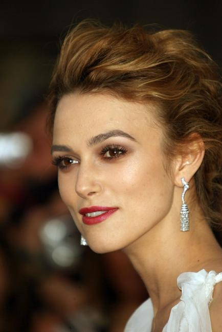 Keira Knightley at the world premiere of