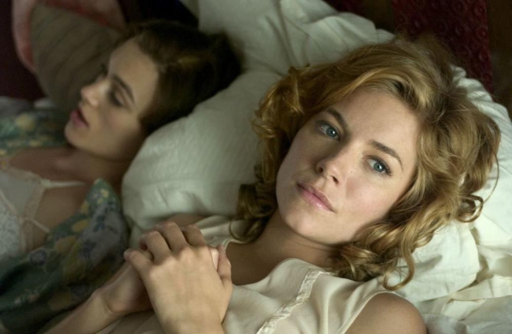 Keira Knightley and Sienna Miller in