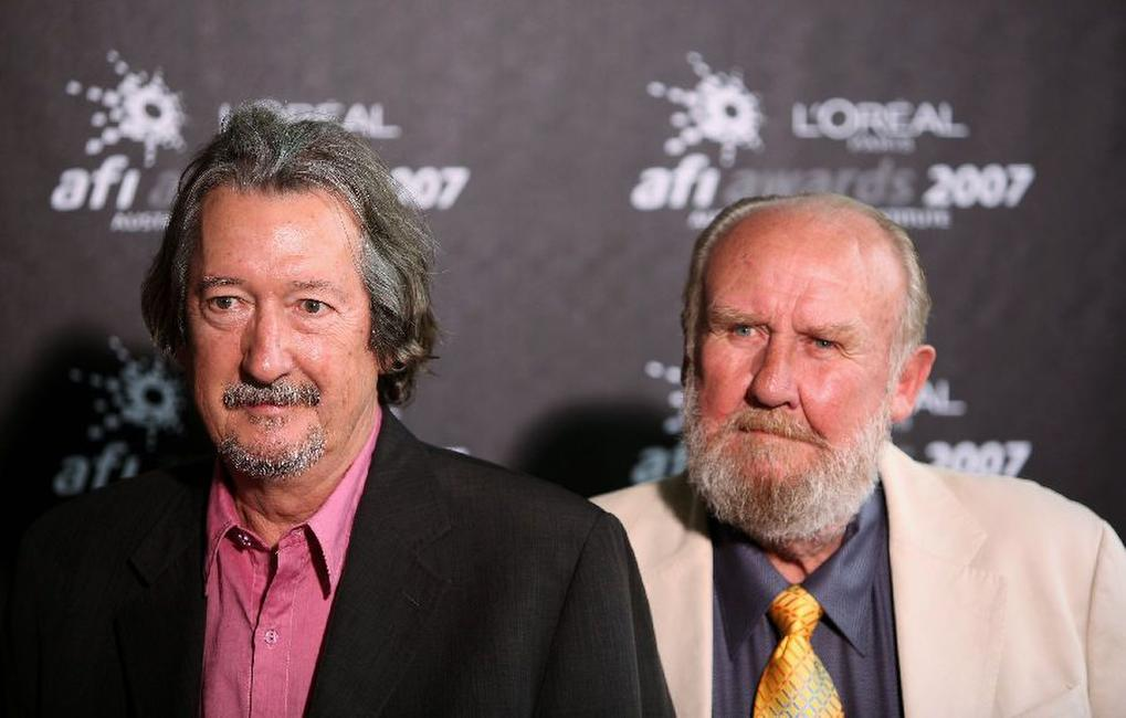 Bill Hunter and Michael Caton at the L'Oreal Paris 2007 AFI Awards Dinner.