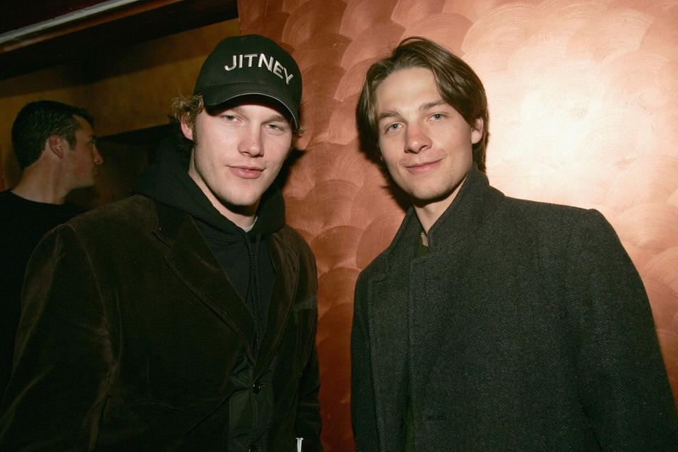 Chris Pratt and Greg Smith at the Sundance party of