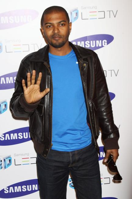 Noel Clarke at the Samsung 3D Television launch party.