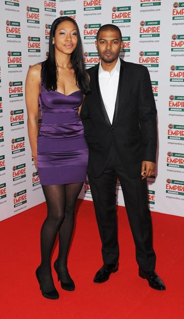 Noel Clarke and Guest at the Jameson Empire Film Awards.