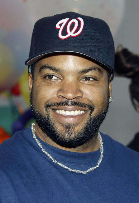 Ice Cube at the special screening of