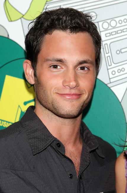 Penn Badgley at the MTV's Total Request Live.