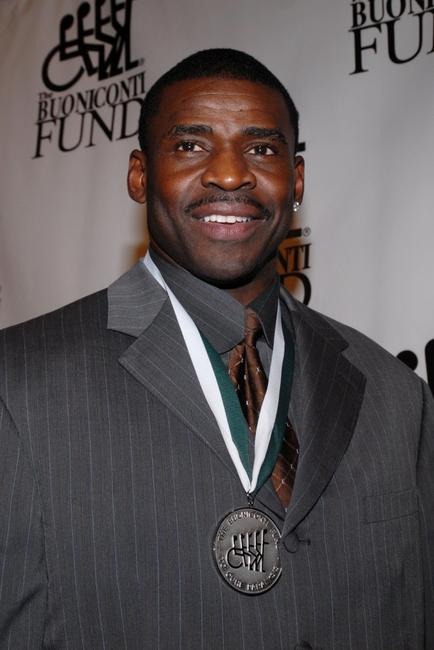 Michael Irvin at the 21st Annual Great Sports Legends Dinner.